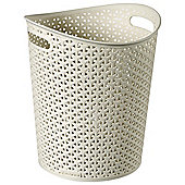 Curver My Style - Waste Bin With Handles -12.5L - Cream