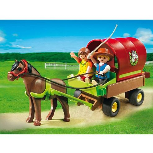 Playmobil Children's Pony Wagon