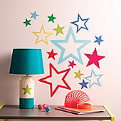 Star In Stars Wall Stickers