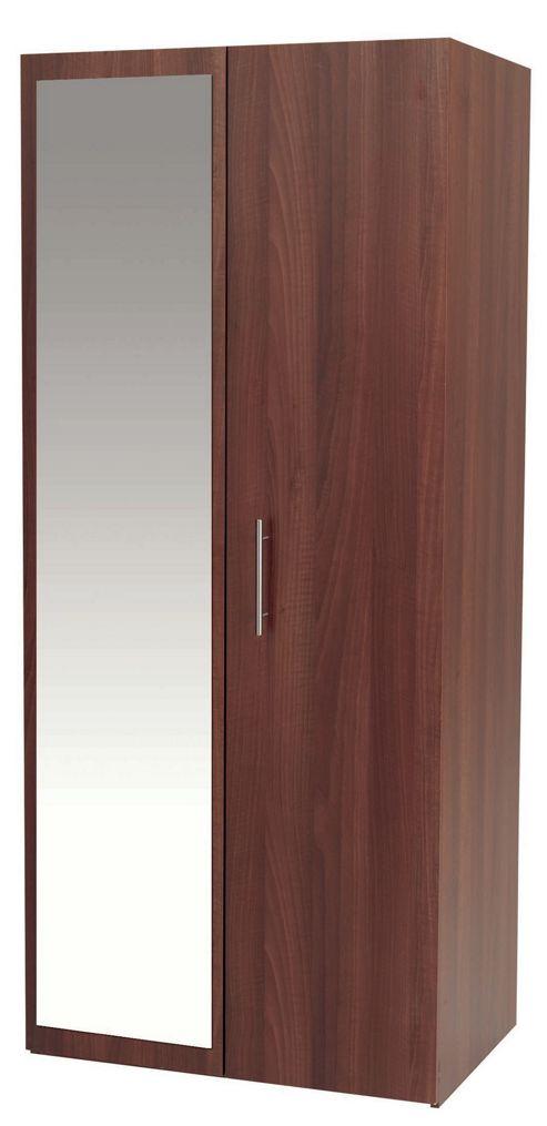 Alto Furniture Mode Wardrobe with Mirror
