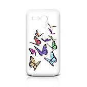 Orzly FlexiCase for the Motorola Moto G - Butterfly Effect