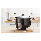 Tesco RC16 Electric Rice Cooker, 1.5L - Black