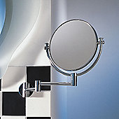Nicol Nancy Wall Mirror - Chromed Brass