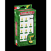 Subbuteo Official Yellow And Green Team - For The Classic Table Football Game