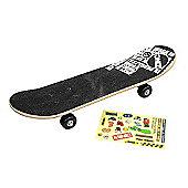 Zinc 61cm Skateboard with Stickers