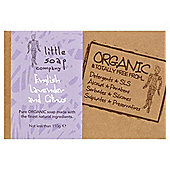 Little Soap Company: Organic Lavender And Citrus Bar Soap