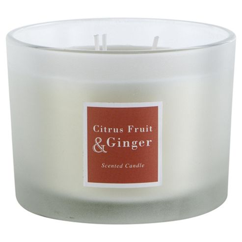 how to make ginger scented candles