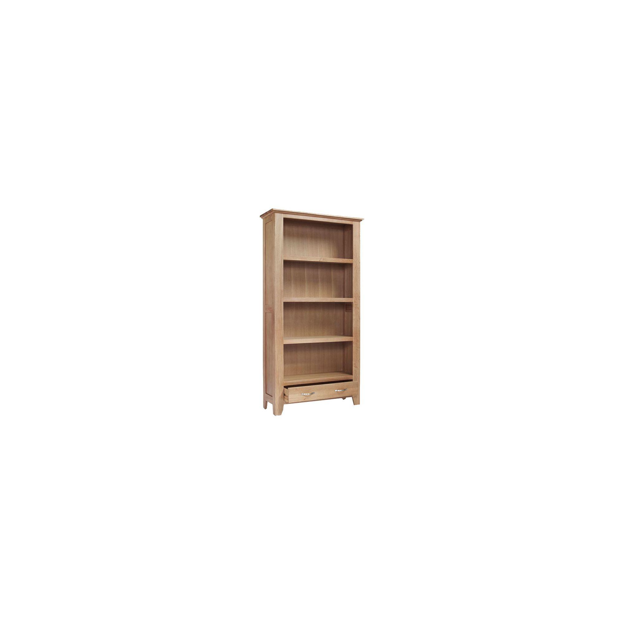 Ametis Sherwood Oak Bookcase - 98cm at Tesco Direct