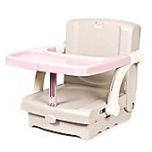 Kids Kit Hi Seat Portable Booster Pink Beige