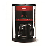 Morphy Richards 162005 12 Cup Digital Filter Coffee Maker in Red