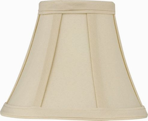 The Lighting & Interiors Group Bowed Empire in Cream - 15cm