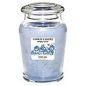 Yankee Candle Jar Sweet Pea, Medium