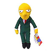 The Simpsons Mr Burns Plush Doll