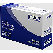 Epson SJIC15P Ink Cartridge, Cyan, Magenta, Yellow, Inkjet