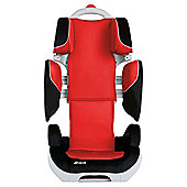 Hauck Bodyguard Group 2-3 Car Seat, Black/Red