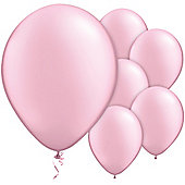 Pink Balloons -11' Pearl Latex Balloon (100pk)