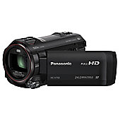 Panasonic HC-V750 Camcorder Black FHD 1276mp 20xZoom 30LCD WiFi SD/SDHC/SDXC