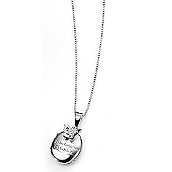 D for Diamond I Do Believe In Fairies Locket - P3885