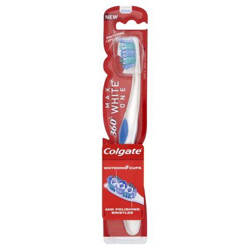 Colgate 360 Whitening Toothbrush Medium.