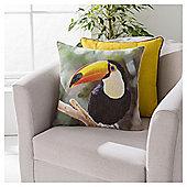Tucan Cushion 43 x 43cm