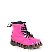 Dr Martens Infants Brooklee Hot Pink Boots - Pink
