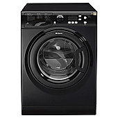 Hotpoint Extra WMXTF822K Washing Machine, 8Kg Wash Load, 1200 RPM Spin, A++ Energy Rating, Black