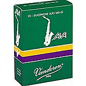 Vandoren 2 1/2 Alto sax Java Reed (x10)