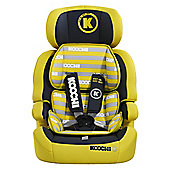 Koochi Moto Hero Group 123 Car Seat Primary Yellow
