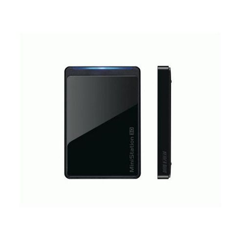 Buffalo MiniStation 500GB USB 3.0 Portable Hard Disk Drive - Black