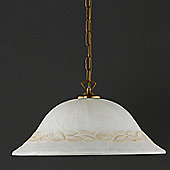 Honsel Fiore 1 Light Bowl Pendant