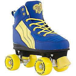 Rio Roller Pure Blue/Yellow Quad Roller Skates - UK 4