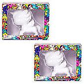 """Unicornos by Tokidoki - 2 x DIY 5"""" Vinyl Unicorno - Create Your Own"""