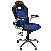 EarthCroc Blue Office Racing Gaming Chair