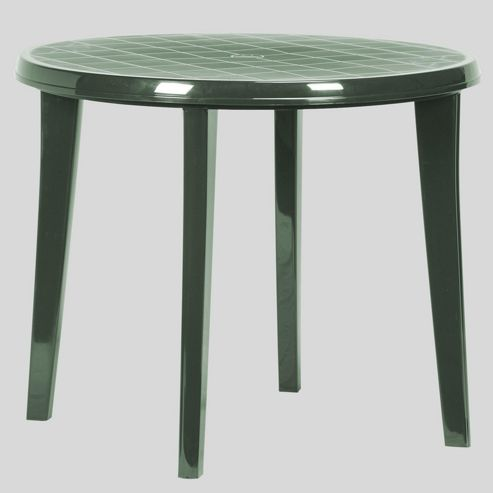 buy allibert jardin lisa 4 seat forest green round dining