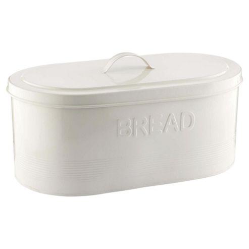 buy tesco enamel bread bin cream from our bread bins range. Black Bedroom Furniture Sets. Home Design Ideas