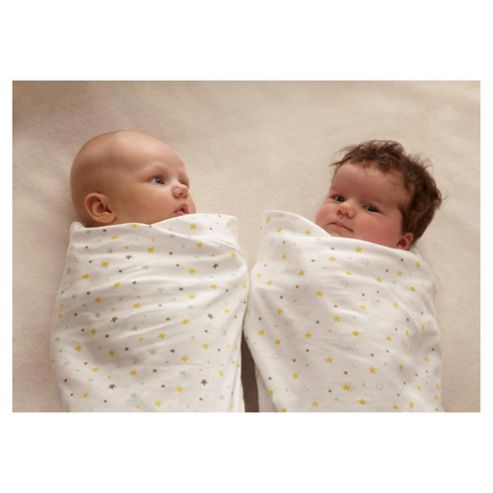 Gro Swaddle Wish Upon a Star Twin Pack