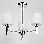 Endon Lighting Telescopic Centre Rods Mini Chandlier in Chrome