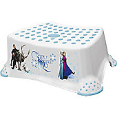 Disney Frozen Toddler Toilet Training Step Stool - White