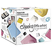 Fuji Instax Accessory Pack inc Case, Photo Album and Close up Lens, White