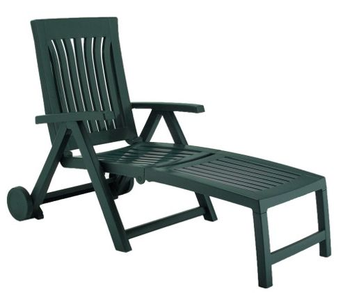 Nardi Achille Lounger in Green