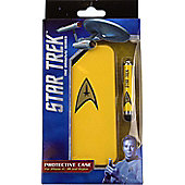 Official Star Trek Case for iPhone 4/4S with stylus - Yellow - Apple