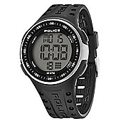 Police Cyberlite Mens Silicone Date Watch 13904JPBS-02