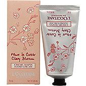 L'Occitane en Provence Fleurs de Cerisier (Cherry Blossom) Hand Cream 75ml