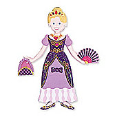 Melissa & Doug Reusable Puffy Stickers Princess