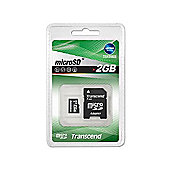 Transcend 2GB Micro SD No Adaptors