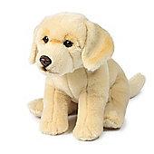 Anna Club Plush Yellow Labrador Soft Toy - 26cm