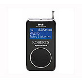 ROBERTS SPORTS DAB II DAB/FM PORTABLE POCKET RADIO (BLACK)