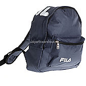 Fila Marshall Mini Kids backpack / School bag / Ruck Sack 30 x 25 x 12cm Navy