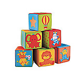Mothercare Safari Alphabet Soft Cubes