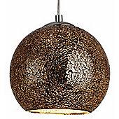 Glamorous and Modern Bronze Crackle Ceiling Pendant Light